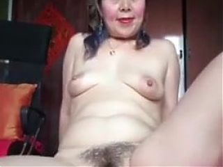 Hot Asian Mature Solo