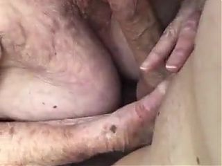 Blowjob by grandmother