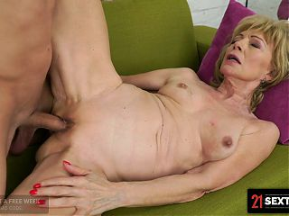 Blonde GILF Loves Getting Fucked On Her Day Off