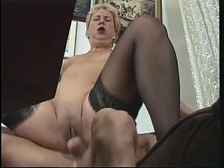 ActionMatures - Aggressive Gilf bounces her ass on cock