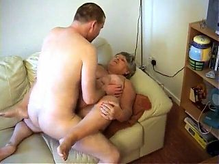 Granny Libby in one of her best fucks with a neighbour