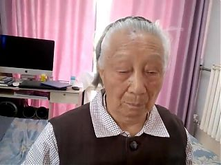 Old Chinese Granny Gets Fucked